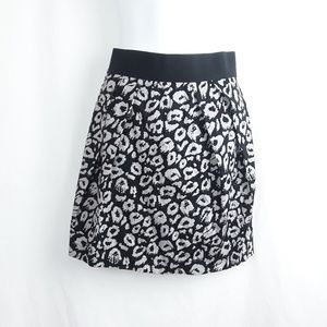 F21 Animal Print Pencil Short Skirt